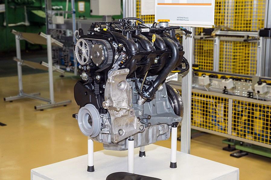 Новый двигатель Лада Веста